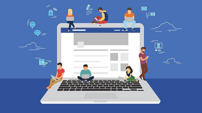 facebook visits