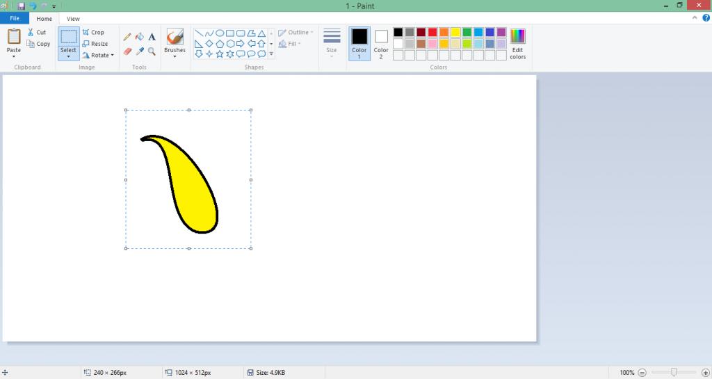 select the shape to make 3D figure