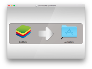 bluestack to application window