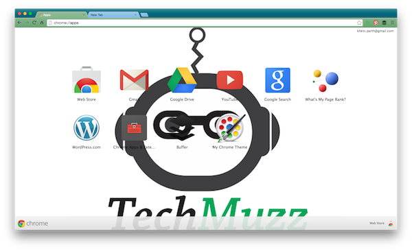 final theme applied in chrome