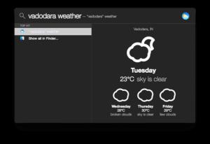 flashlight app weather demo