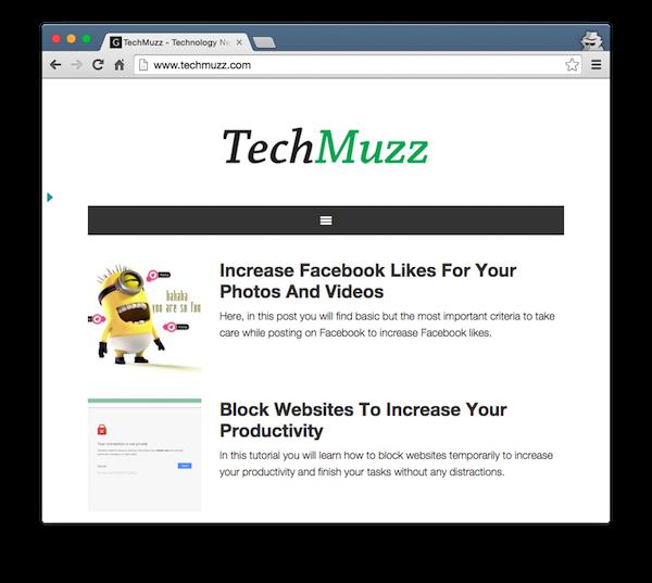techmuzz header menu responsive