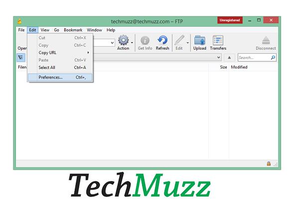 Change Default Editor In Cyberduck FTP Software