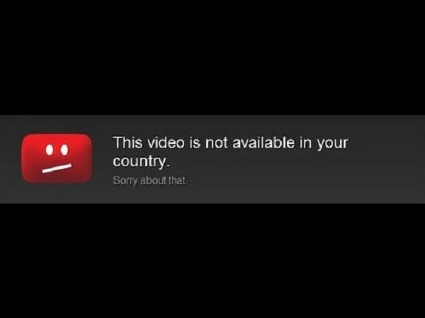This video is not available in you country