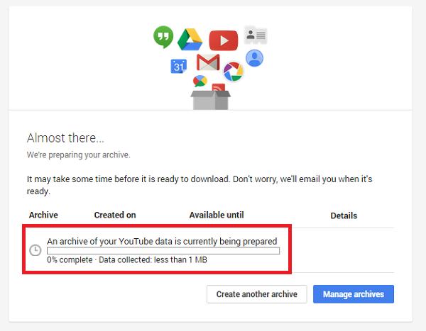 saving youtube videos on google drive