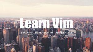 learn vim online free