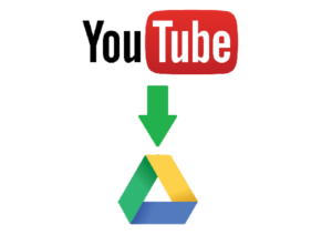 youtube to google drive
