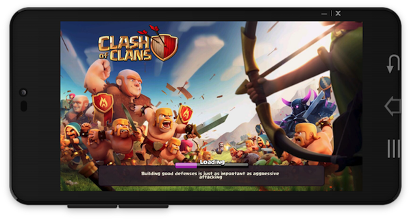clash of clans in mobizen