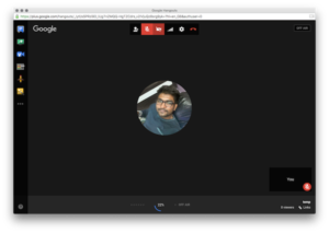 Hangout On Air Page