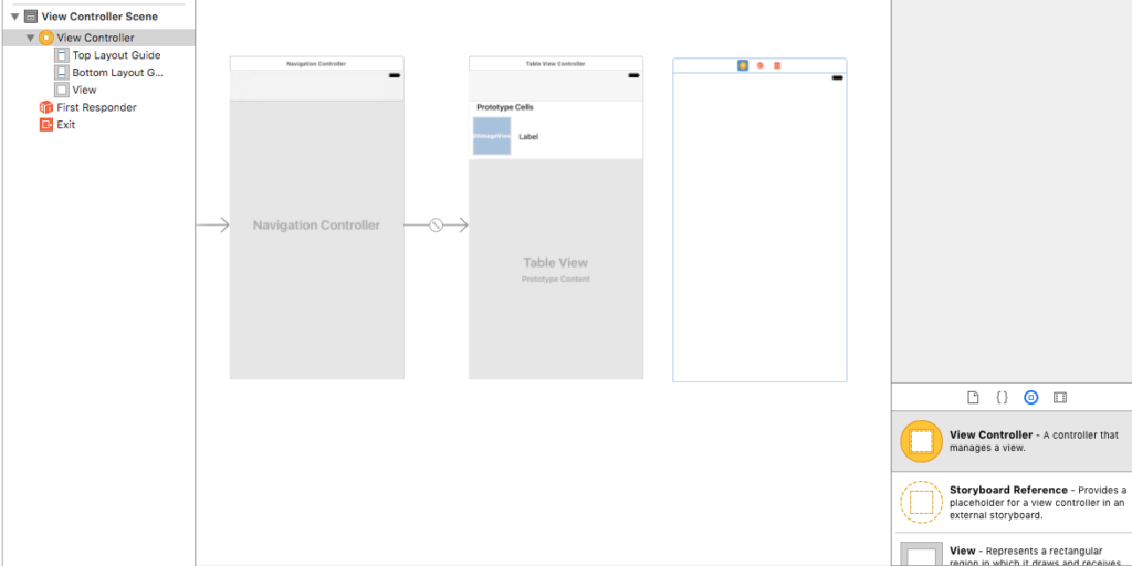 view controller xcode