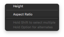 aspect ratio of imageview xcode