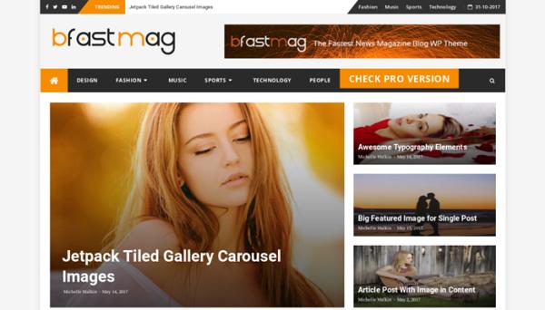 wordpress blog themes free download