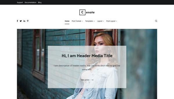 free wordpress personal blog themes