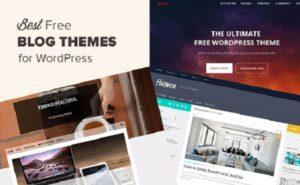20 Best Free WordPress Blog Responsive Themes 2018