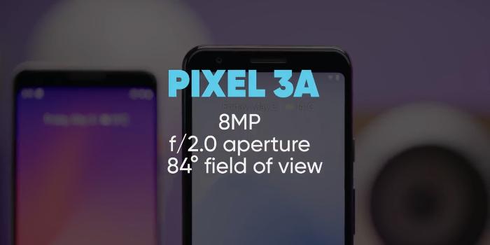 google pixel 3a and 3a xl camera