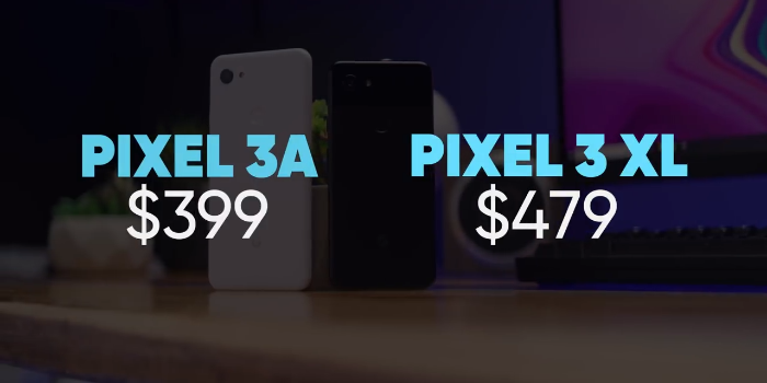 google pixel 3a and 3a xl price