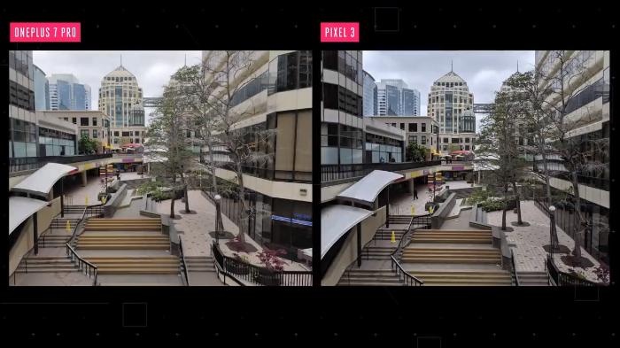 oneplus 7 pro vs pixel 3 shot