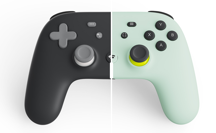 stadia controller colors, just black and wasabi