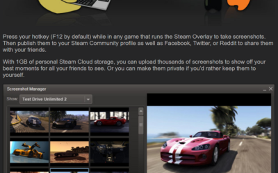 Find Steam Screenshot Folder